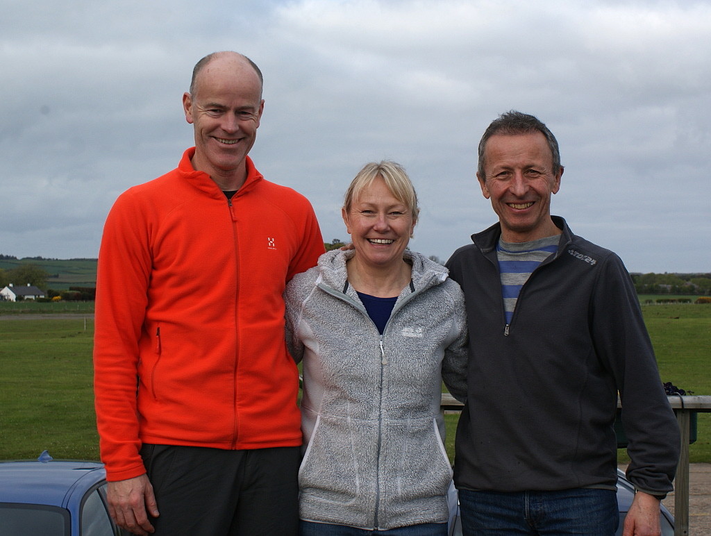 Graeme, Jill and Gordon
